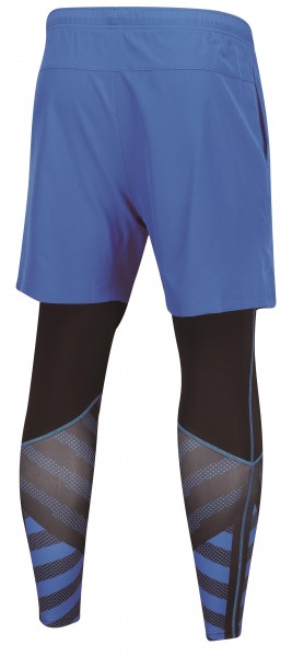 AAPN151-2 Leg Warmer Shorts Blue